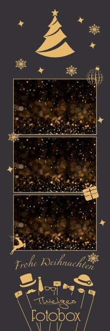 Gold Christmas Half