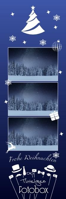 White Christmas Half